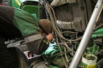 Brukerundersøkelse: Garantiavtaler på traktor