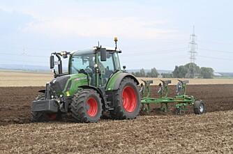 Traktorstatistikken: Populært med grønt