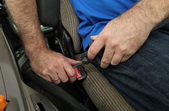 Mulig påbud om setebelte - også på jordet