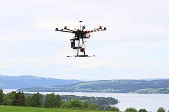 Droner like bra som fysiske prøver