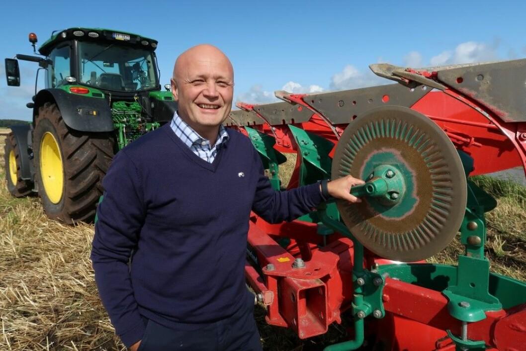 Lars Rotseth vil ta grep for å gjøre plogfabrikken på Klepp mer konkurransedyktig. Foto: S. Bigseth