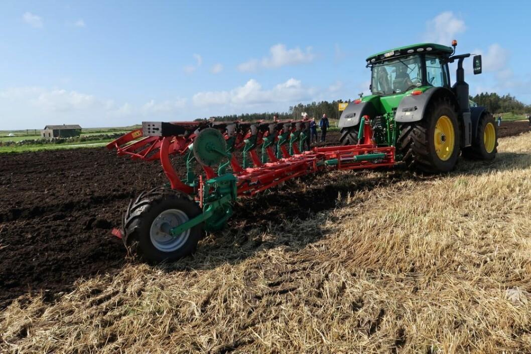 Kverneland oppgraderer plogene i forkant av Agritechnica. Foto: S. Bigseth