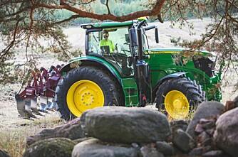 Traktorstatistikken: Jakta på hjorten fortsetter