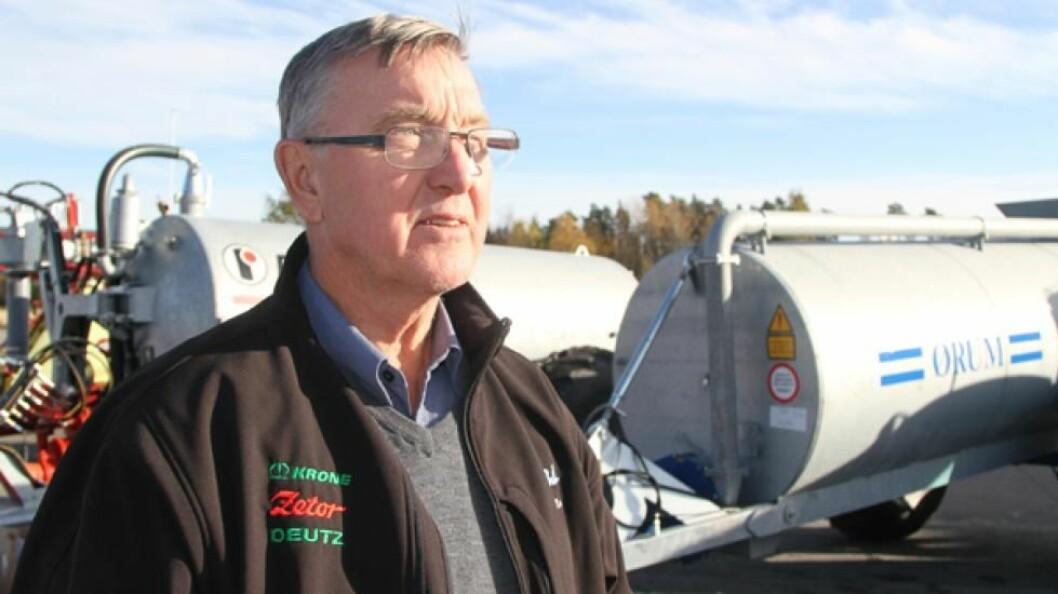 Roald Nomme, daglig leder i HCP-ringen. Arkivfoto