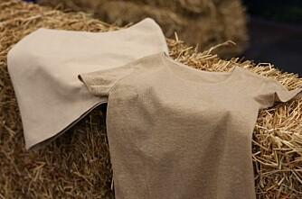 Finner vil lage klær av halm
