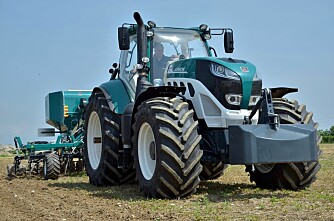 Sjøgrønt på Agritechnica