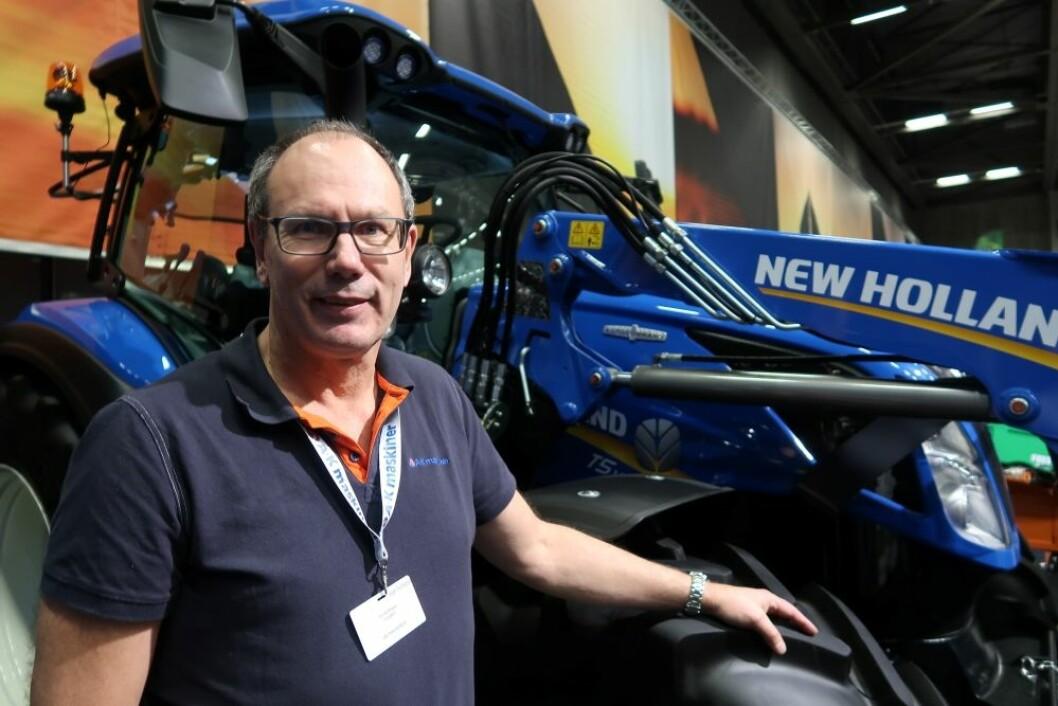 Tor Kolbjørn Livgård er ny salgs- og produktsjef for New Holland.