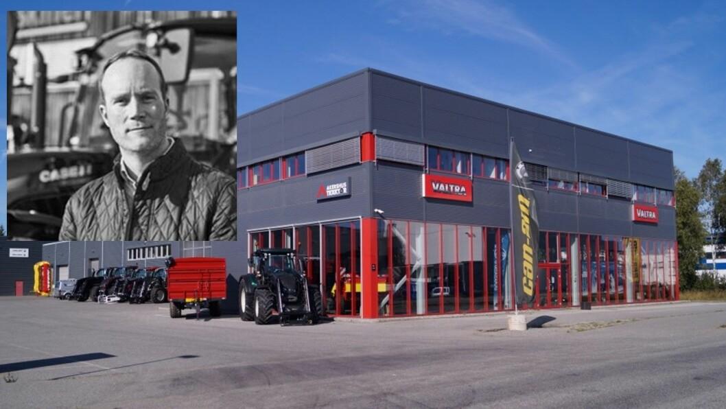 Jan Erling Yri går fra A-K maskiner til Akershus Traktor på nyåret.