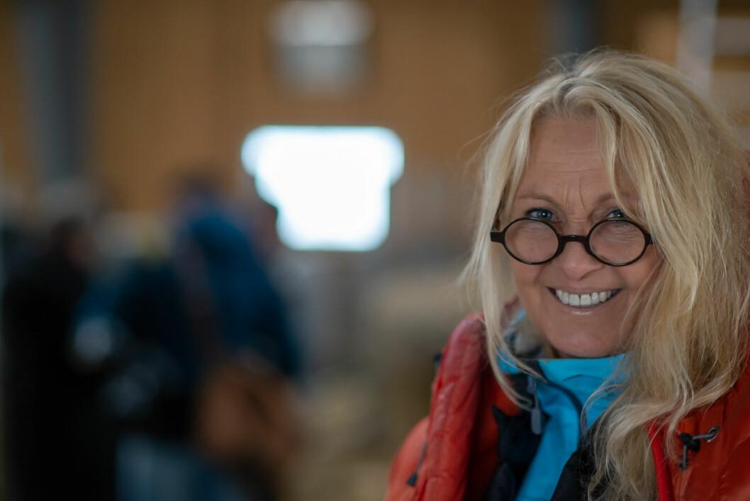 Mariann Tveter ønsker å formidle usminka hverdagshistorier fra det norske landbruket til den norske forbrukeren. Foto: Erik Jeistad
