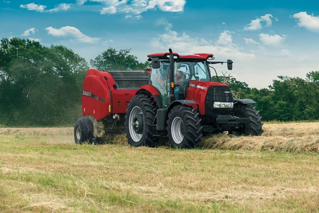Å leie en traktor kan være et alternativ for bønder som skal starte opp. Foto: Case IH