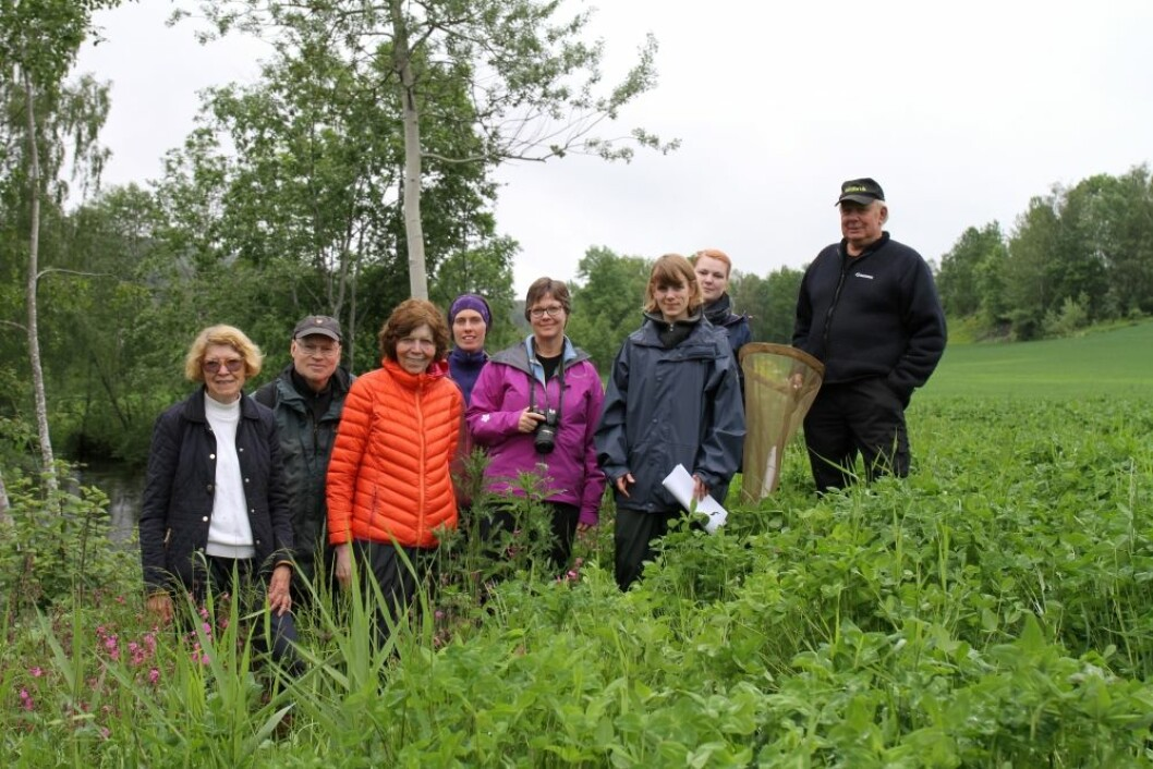 Fra venstre: Ann Norderhaug, Roald Bengtson, Toril Mentzoni, Anna Arneberg, Anne Bjørg Rian, Ragnhild Heintz, Eirin Bruholt og Jan Helge Lund.