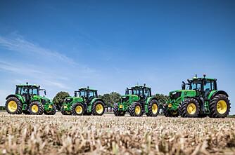 Traktorstatistikken: John Deere med knapp seier