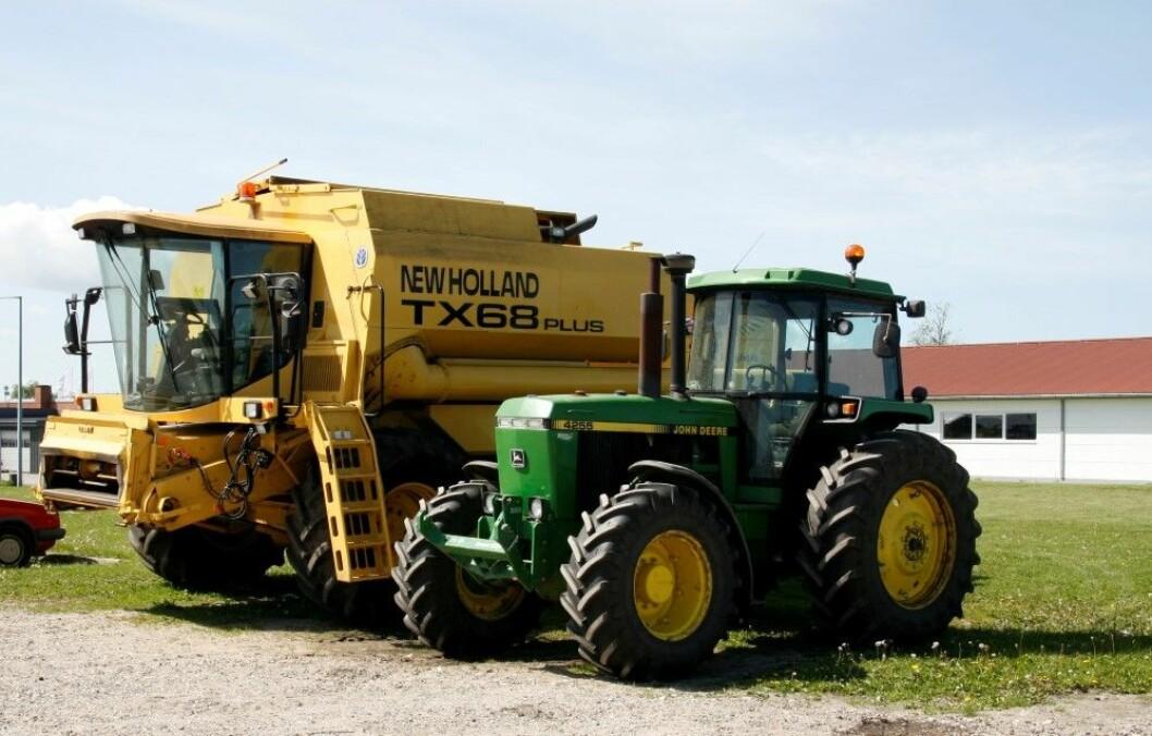 Ny regler skal hindre spredning av planteskadegjørere når bruke landbruksmaskiner selges over grensen.