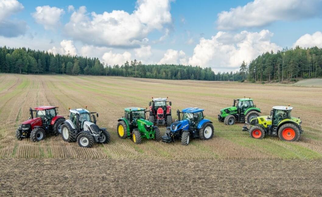 I Traktoroversikten.no finner du mange tusen traktorer, inkludert nesten 600 nye for 2020.