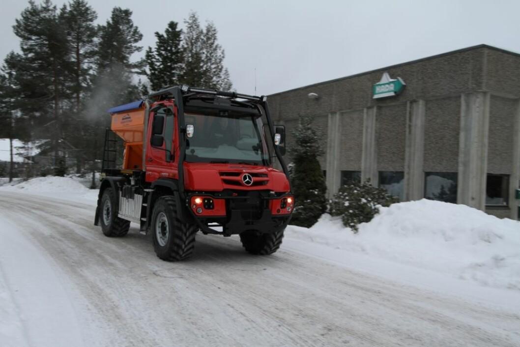 De første traktorregistrerte Unimogene ruller nå rundt i Norge.
