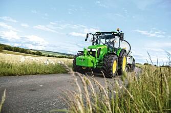 Traktorstatistikken: John Deere på topp, CNH øker