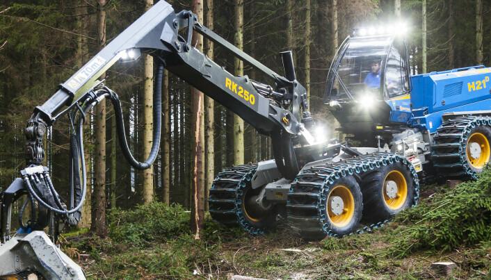 Akershus Traktor satser i skogen