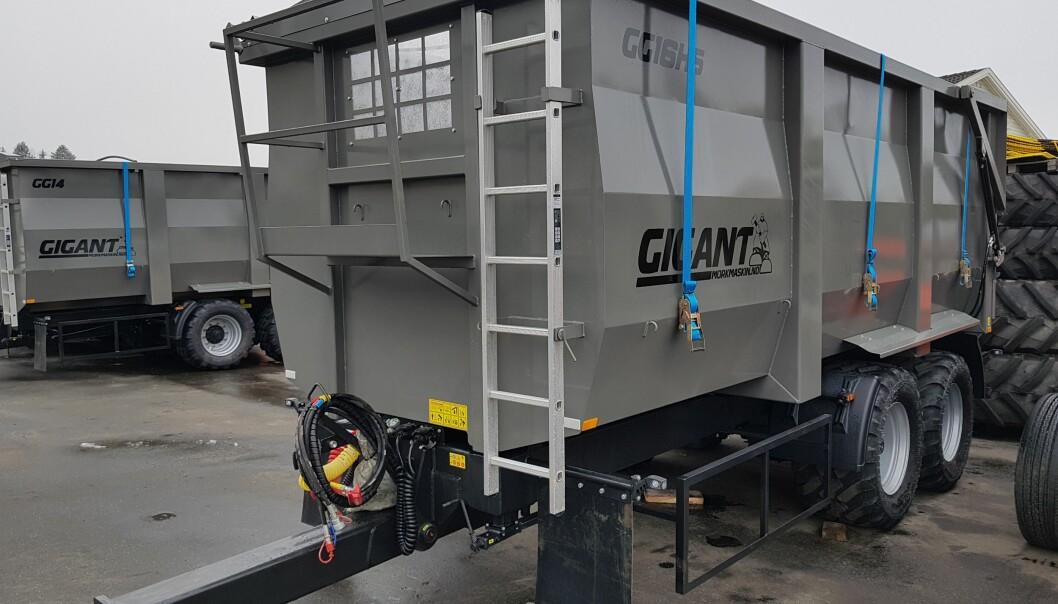 Mørk Maskin AS tilbyr nå volumhengere fra Gigant.