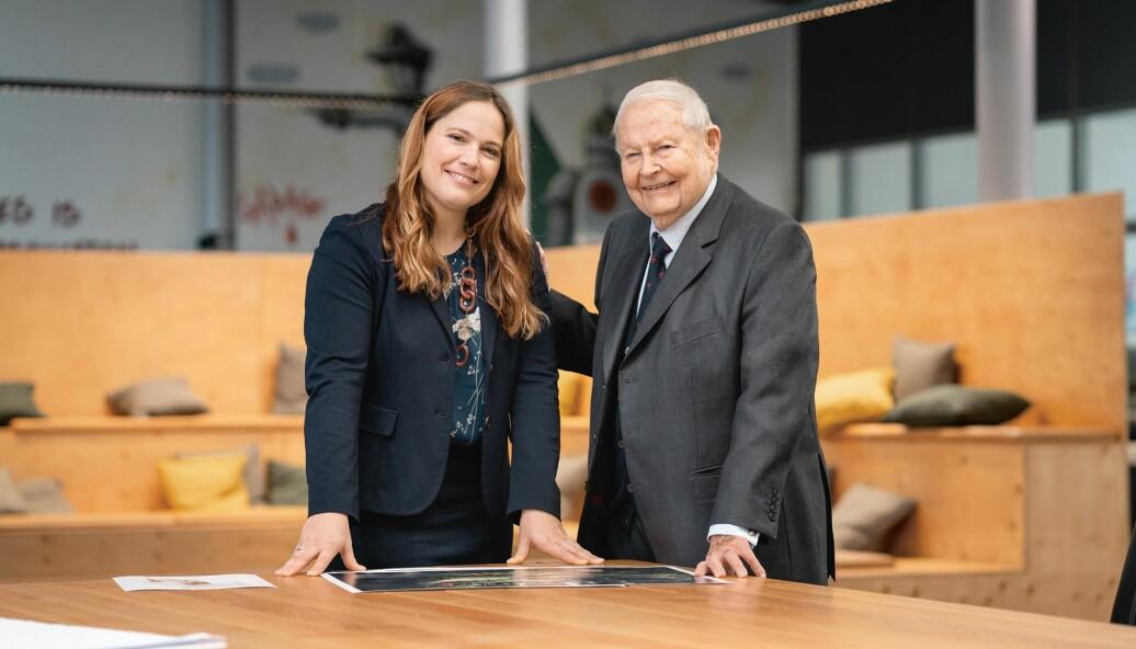 Cathrina Claas-Mülhauser og Helmut Claas.