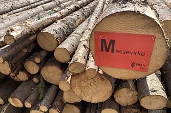 Fall i tømmerprisene