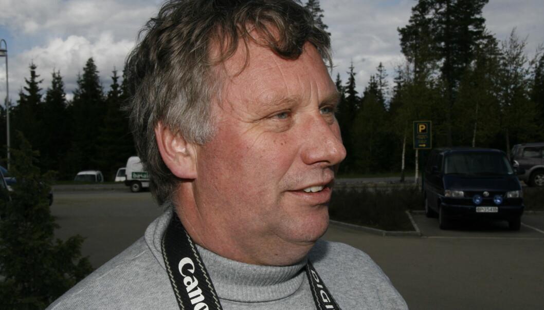 Sjefredaktør Hans Degerdal går av med pensjon 1. mai.