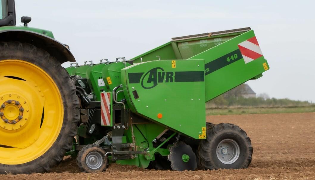 AVR er klar med tre nye potetsettere.