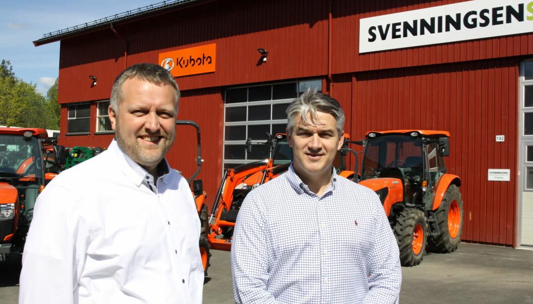 Kristian Refnov og Kjetil Nilsson.