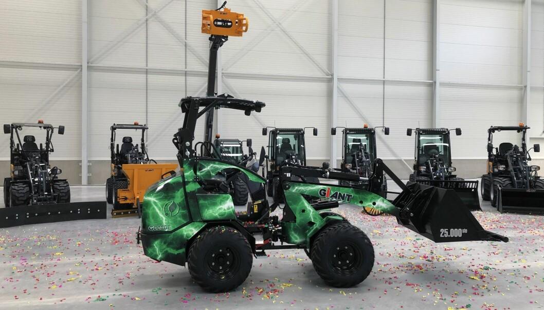 Tobroco-Giants har tro på elektriske lastere i framtida.