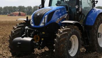 Positiv utvikling i traktormarkedet