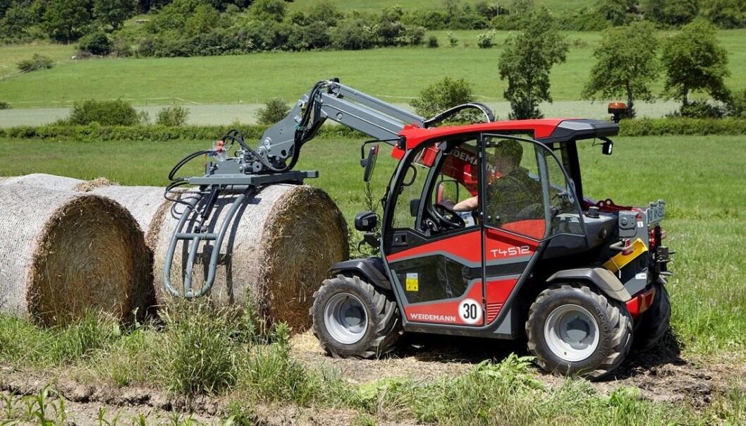 Weidemann introduserer en ny generasjon T4512.