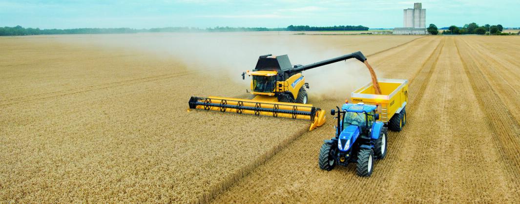Det er særlig utstyr fra New Holland treskere og traktorer som har blitt stjålet.
