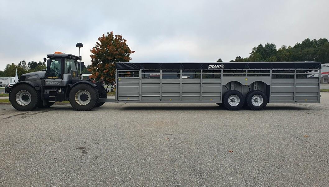 Gigant GA1050 er hele 12 meter lang.