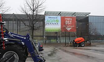 Nå nærmer det seg siste frist for nyheter til Agroteknikk
