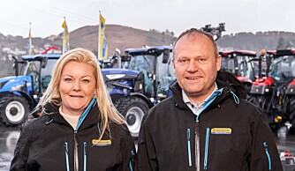 Ny importør for New Holland anleggsmaskiner