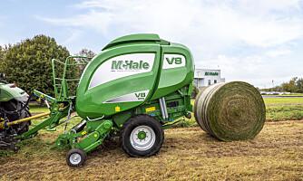 McHale øker størrelsen på presser med variabelt kammer