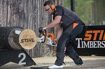 Nå blir også mesterskapet i tømmersport digitalt