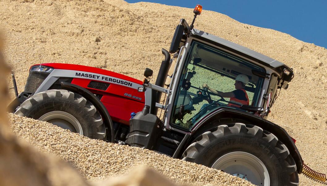 Massey Ferguson 8S.265 er Årets traktor 2021.