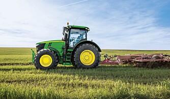 Traktorstatistikken: John Deere åpner på topp