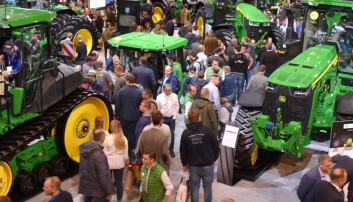 John Deere trekker seg fra Agritechnica 2021