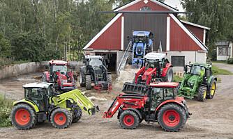 Historisk lite traktormarked