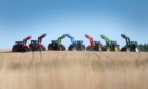 Se video fra traktortesten
