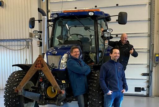 A-K maskiner åpner avdeling på Vestnes