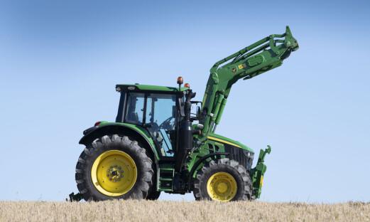 Traktorstatistikken: John Deere holder stand