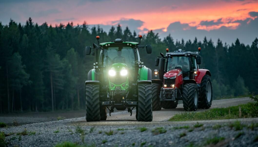 Både Deutz-Fahr og Massey Ferguson gjør endringer på importleddet i Skandinavia. Foto: Michel Velderman