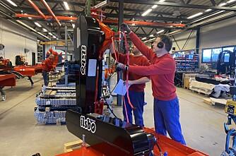 Ilsbo-produksjonen i gang hos Tokvam