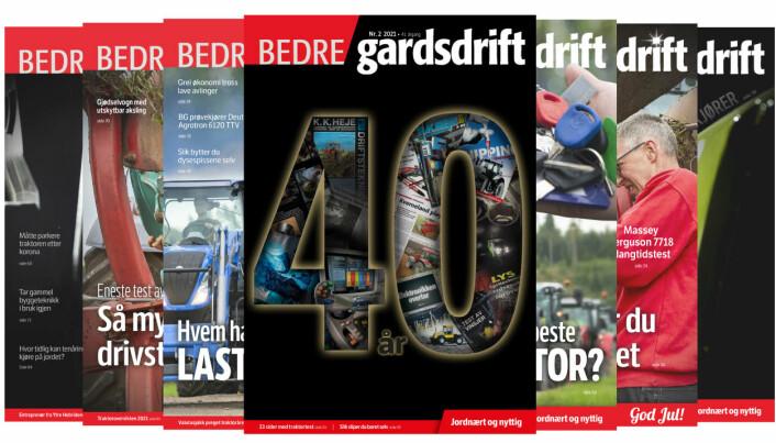 Se hva du kan lese om i Bedre Gardsdrift 2/2021