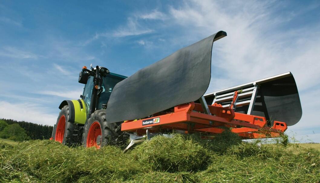Det er særlig utstyret til siloproduksjon Agri maskiner vil satse på.