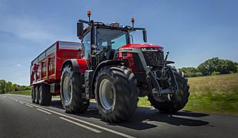 Traktorstatistikken: Massey Ferguson tar mai