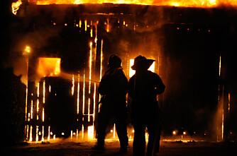 Landbrukshistorie brant opp i natt