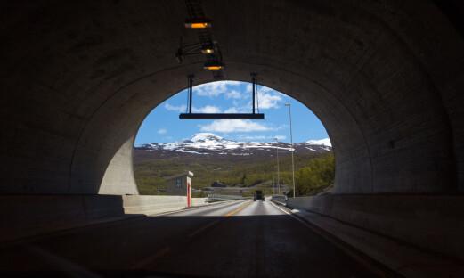 Traktorer i tunneltrøbbel